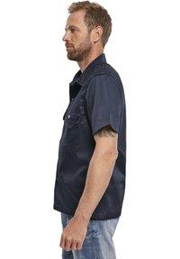 Brandit - HERREN US HEMD 1/2 - Shirt - navy - 3