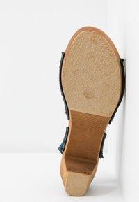 Sanita - TIRSA SQUARE FLEX - Clogs - denim - 6