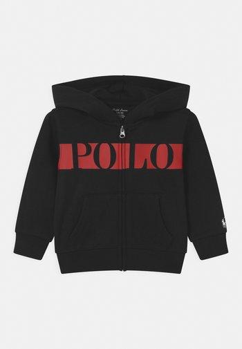 HOOD - Zip-up sweatshirt - polo black