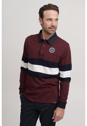 Poloshirt - cabernet