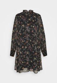 Vero Moda - VMTILI HIGH NECK SHORT DRESS - Day dress - black/tiny - 4