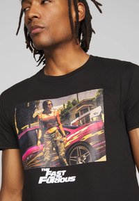Bioworld - FAST AND THE FURIOUS TEE - Triko s potiskem - black - 4