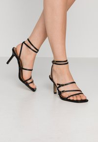 Who What Wear - EVERLY - High heeled sandals - black - 0