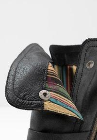 Felmini - COOPER - Cowboy/Biker boots - black - 2