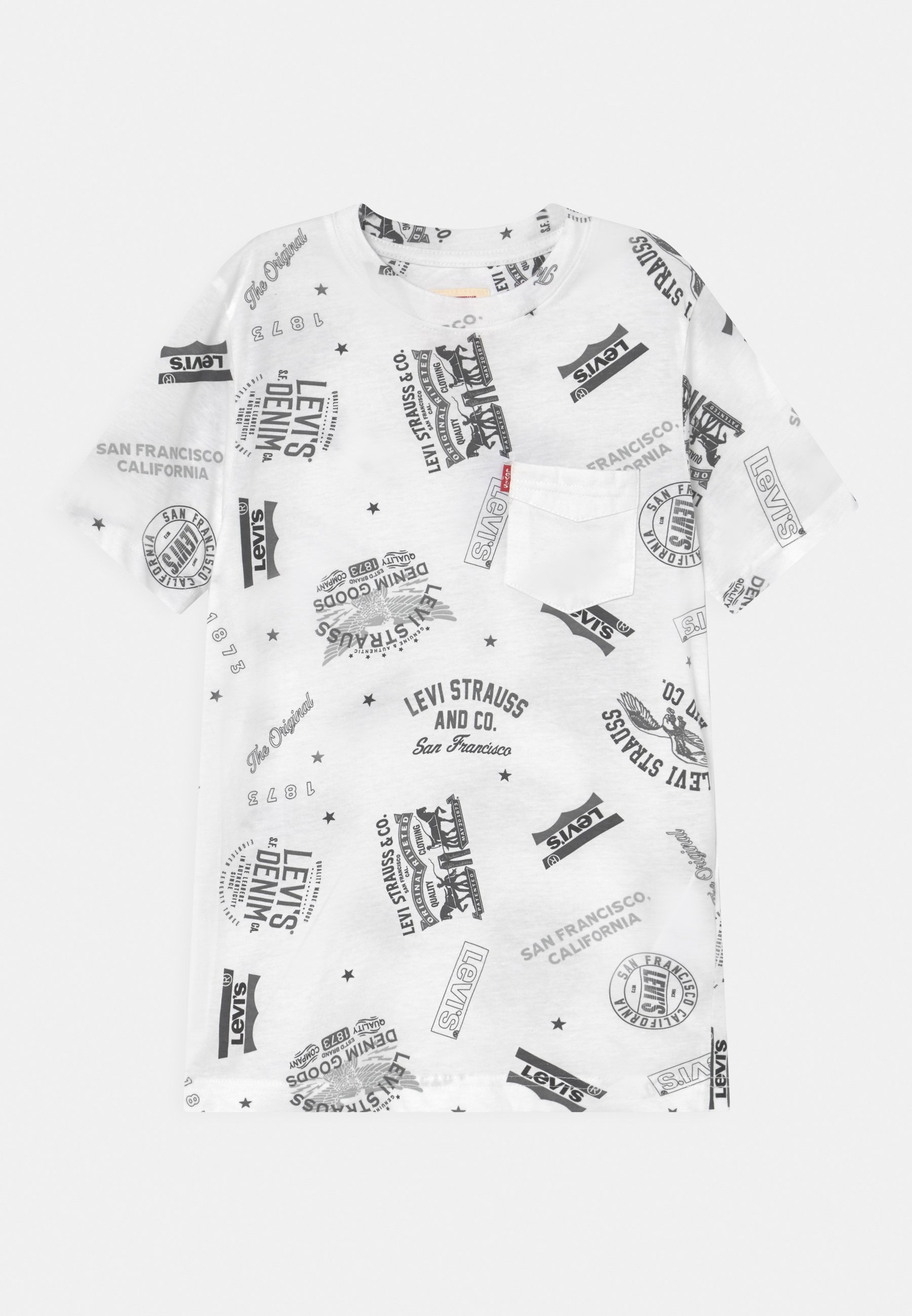 Bambini WHITE PRINTED TEE - T-shirt con stampa