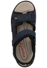 Superfit - Walking sandals - blue/black - 1