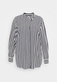 Tommy Hilfiger Curve - BLOUSE - Button-down blouse - desert sky - 0