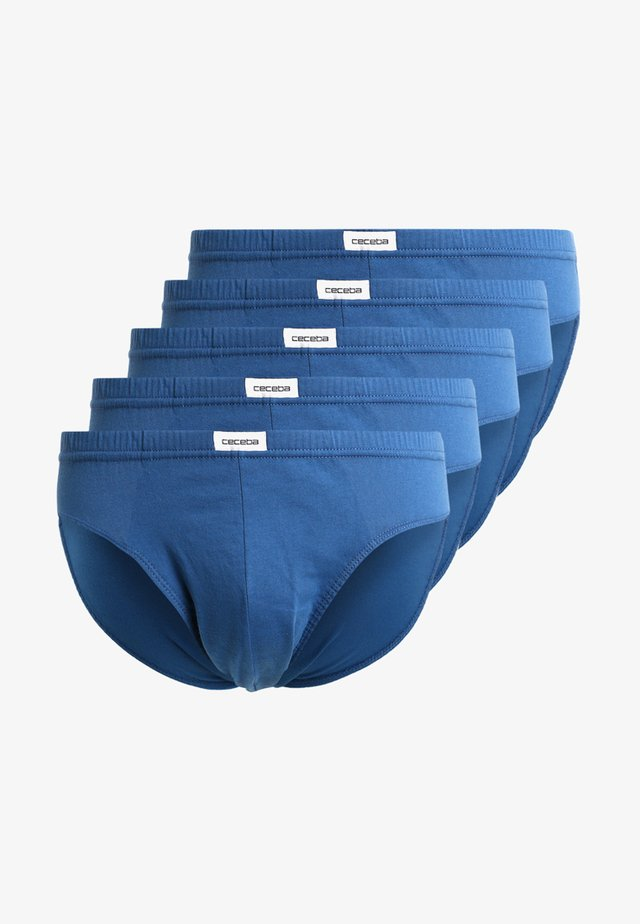 5 PACK - Slip - blue medium solid