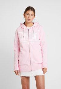 Superdry - GELSEY ZIPHOOD - Zip-up hoodie - powder pink - 0