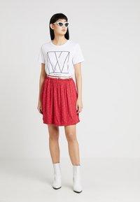 Ragwear - MARE - Áčková sukně - chili red - 1