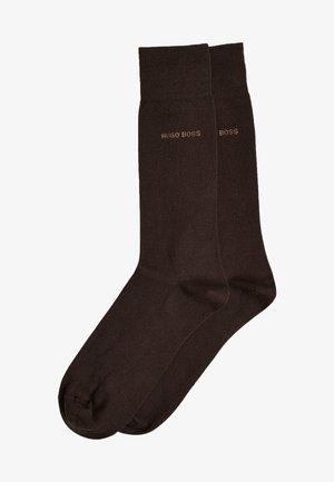 2 PACK - Socks - dark brown