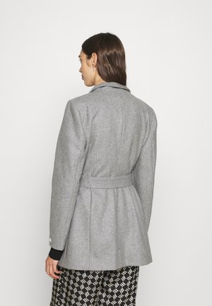ROSESS SHORT WRAP COAT - Krótki płaszcz - mid grey