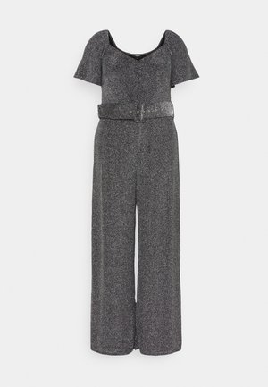 SWEETHEART NECK JUMPSUIT - Overal - pewter