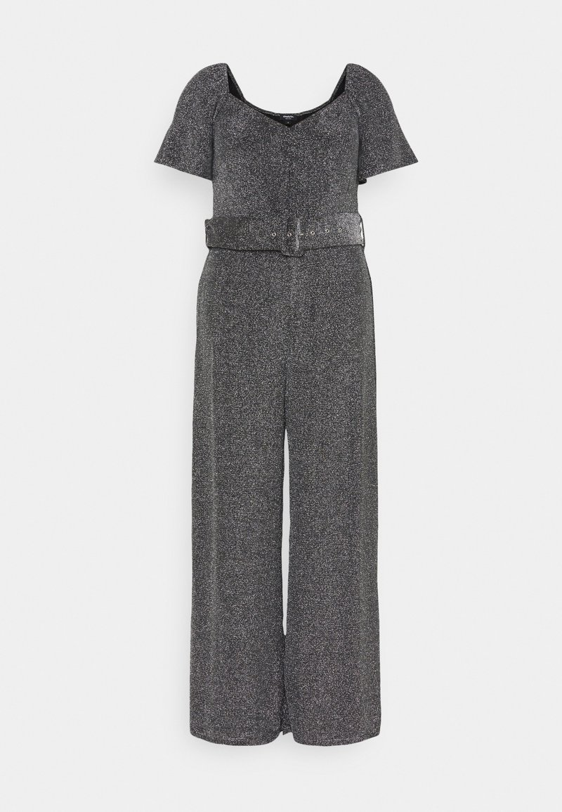 Simply Be - SWEETHEART NECK JUMPSUIT - Overal - pewter