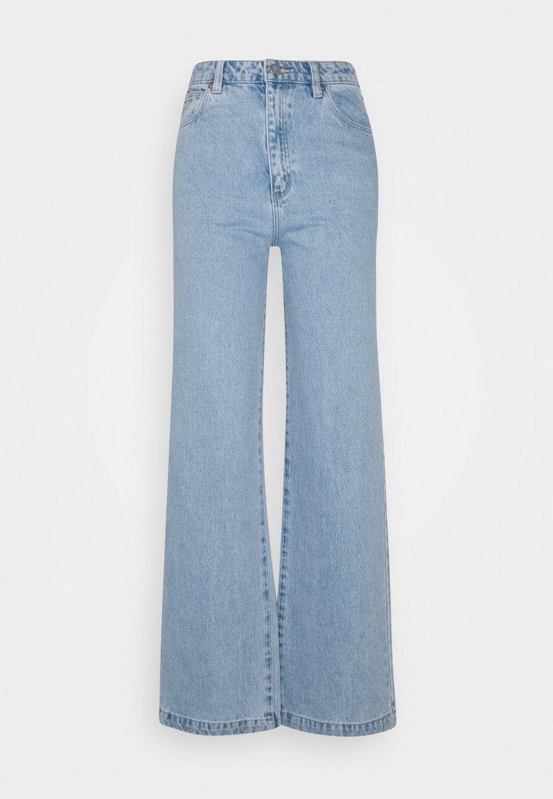 Abrand Jeans - HIGH & WIDE - Jean droit - light blue denim