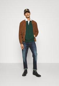 Polo Ralph Lauren - GUNNERS - Skinnjakke - country brown - 1