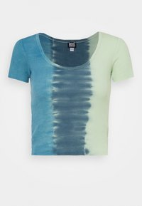 BDG Urban Outfitters - TIE DYE SCOOP BABY TEE - T-shirts med print - blue - 4