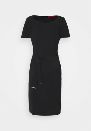 KADASI - Shift dress - black
