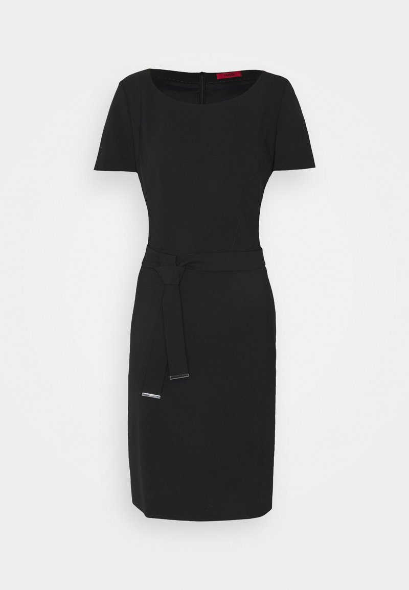 HUGO - KADASI - Shift dress - black