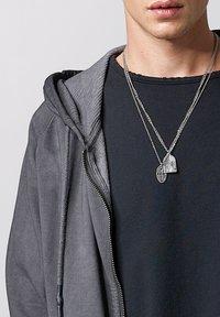 Tigha - RUVEN - Zip-up hoodie - vintage stone grey - 3