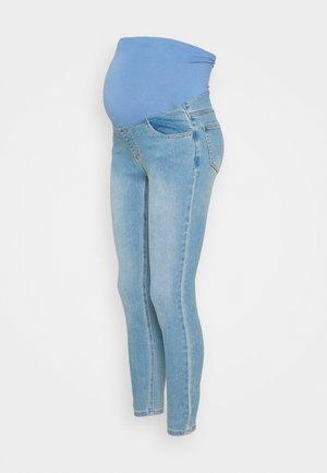 MATERNITY SUPER STRETCH - Jeans Skinny Fit - bells blue