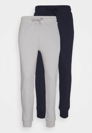 2 PACK UNISEX - Tracksuit bottoms - navy