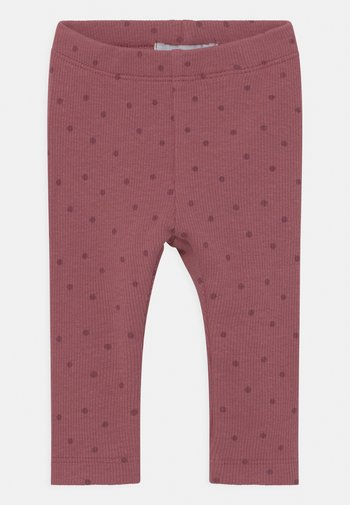 NBFLUMA - Leggings - Trousers - deco rose