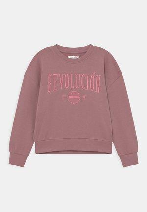 NILENA - Sweatshirt - moauve pink