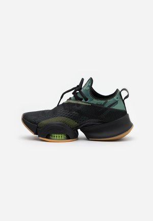AIR ZOOM SUPERREP UNISEX - Scarpe da fitness - black/spiral sage/limelight
