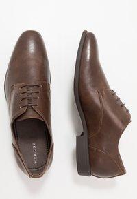 Pier One - Business sko - dark brown - 1