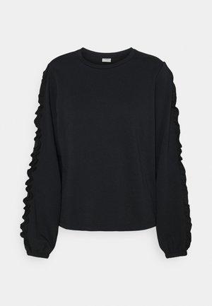 JDYPROVE FRILL - Sweatshirt - black