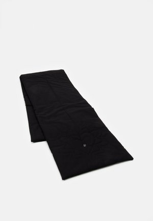 QUILTED SHRUG SCARF WITH EMBROIDERY - Sjaal - black
