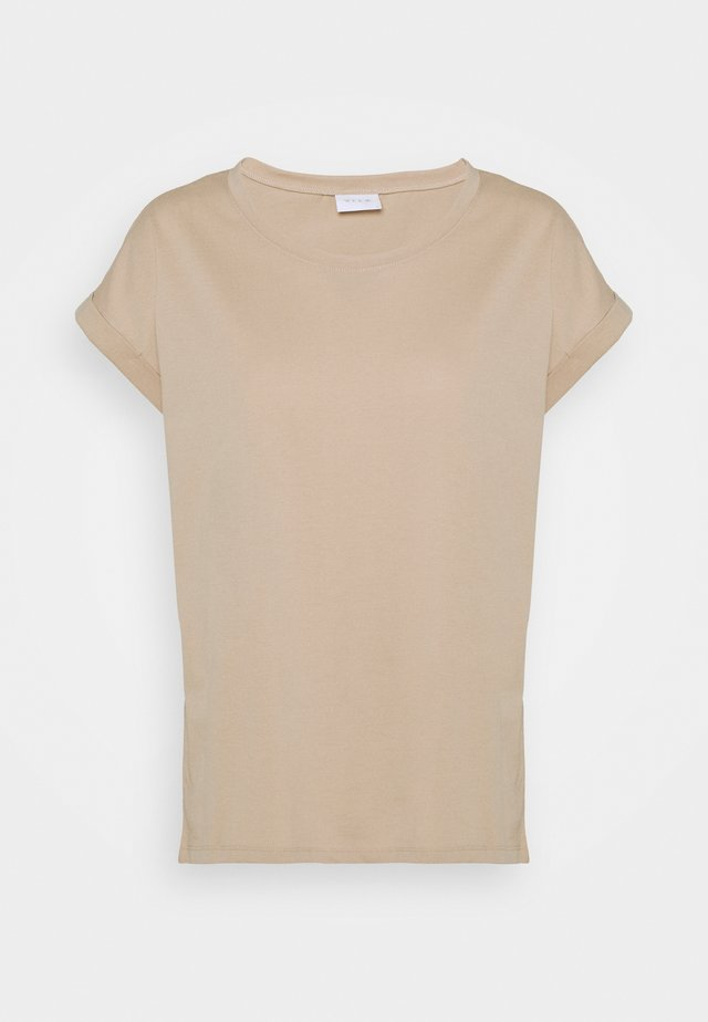 VIDREAMERS PURE - T-Shirt basic - beige