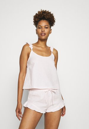STRIPE CAMI SHORT SET  - Pyjama - pink