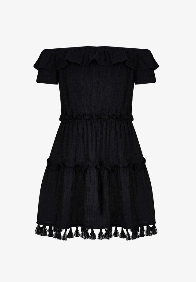 TEXTURED  - Cocktail dress / Party dress - black