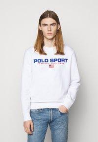 Polo Sport Ralph Lauren - LONG SLEEVE - Sweatshirt - white - 0