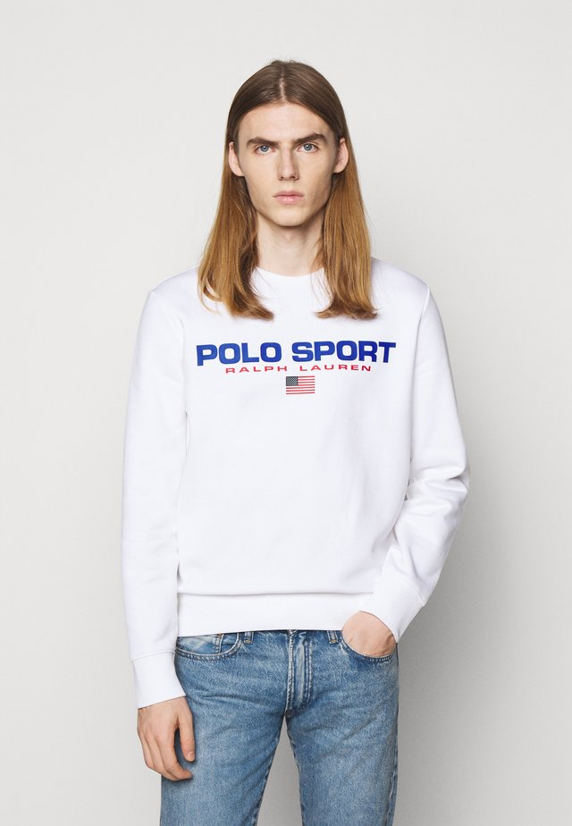 SPORT - Sweatshirt - white