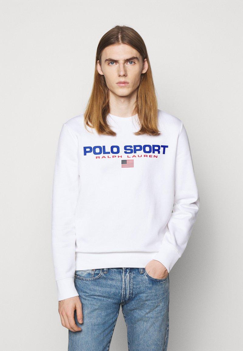 Polo Sport Ralph Lauren - LONG SLEEVE - Sweatshirt - white