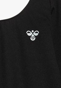 Hummel - LINEA - Kombinezon gimnastyczny - black - 4