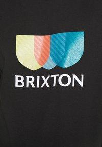 Brixton - ALTON - Print T-shirt - black - 5