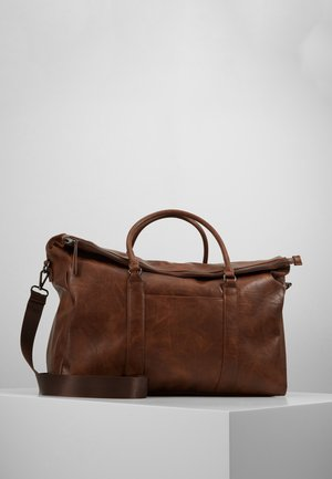 UNISEX - Weekend bag - dark brown