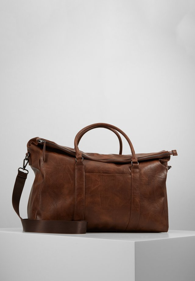 UNISEX - Weekendbag - dark brown