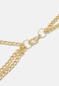 Pieces - PCLIONA WAIST CHAIN BELT CURVE - Pásek - gold-coloured - 1
