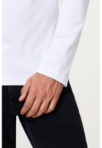 Esprit - BASIC - Long sleeved top - white - 3