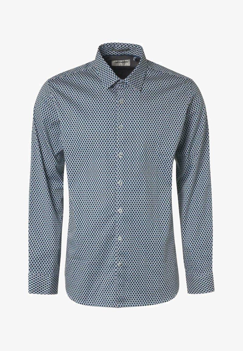 No Excess - Formal shirt - dark aqua