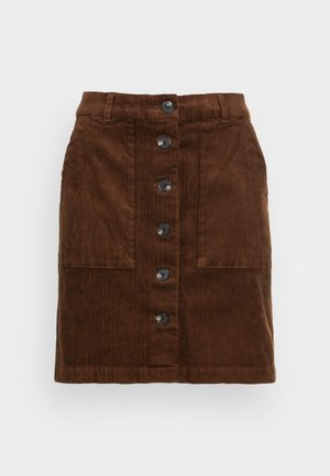 TESS - Pencil skirt - bison