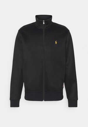 TRACK - Zip-up hoodie - black