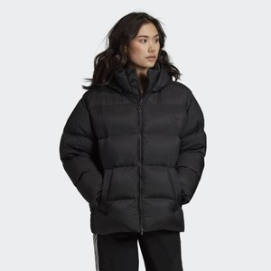 WINTER LOOSE JACKET - Dunjakke - black