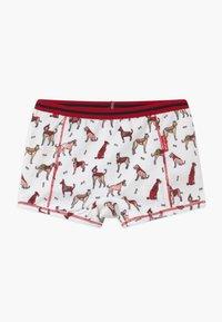 Claesen's - GIRLS 2 PACK - Pants - pink/bordeaux - 1