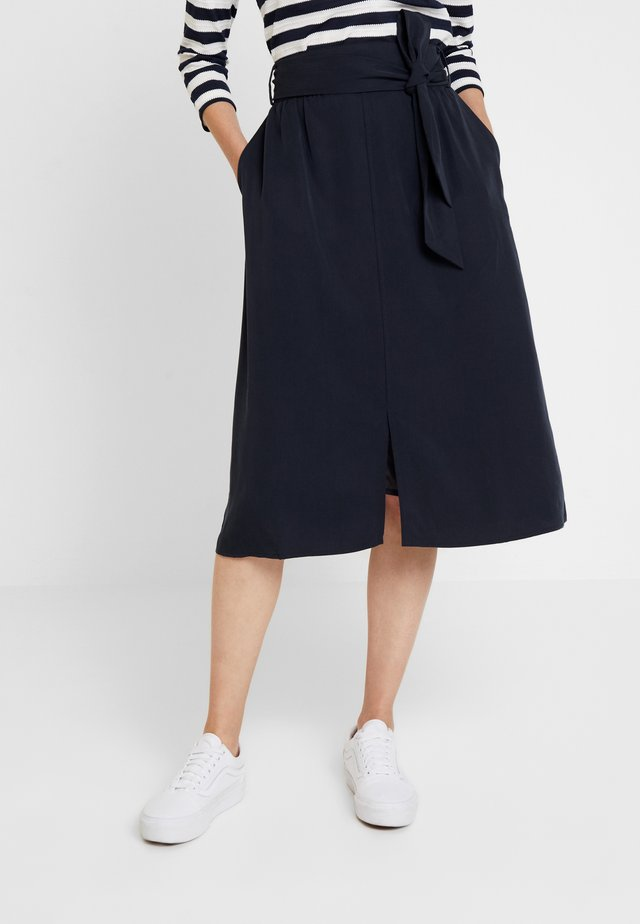 GARRY SKIRT - A-linjainen hame - navy